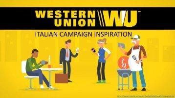 Italian Campaign Inspiration