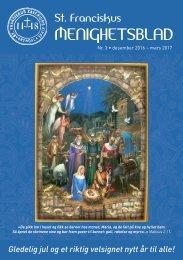 St. Franciskus Xaverius menighetsblad nr 3 2016