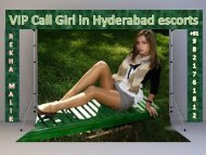 Welcome to Rekha Malik escorts in Hyderabad-1