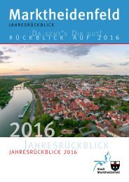 Marktheidenfeld - Jahresrückblick 2016