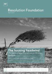The housing headwind