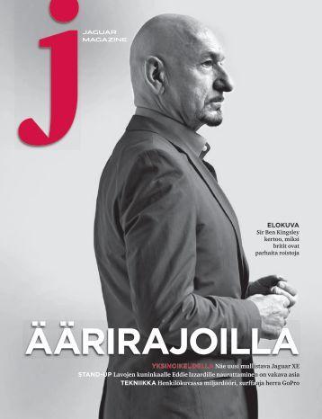 Jaguar Magazine PERFORMANCE – Finnish