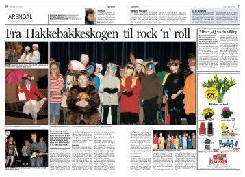 Fra Hakkebakkeskogen til rock`n roll