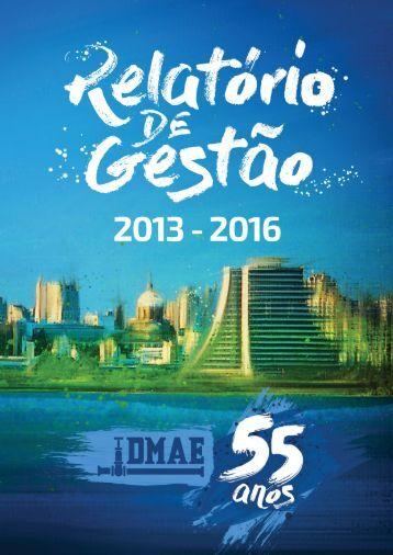 Relatório 2013-2016