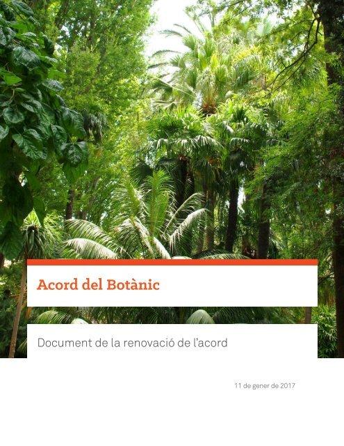Acord del Botànic