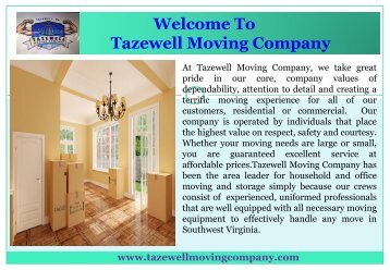Southwest Virginia movers |Tazewell Moving Company  sc 1 st  Yumpu & Movers in Stamford CT
