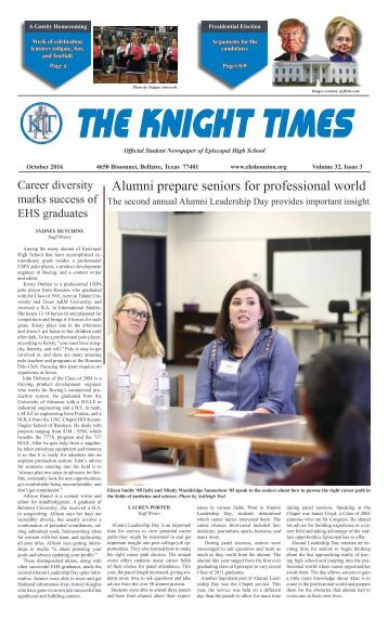 THE KNIGHT TIMES - October 2016