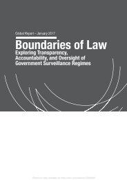 Boundaries of Law