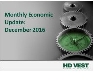 Monthly Economic Update December 2016
