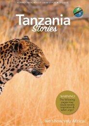 Tanzania Explorer Stories -How to plan your safari !