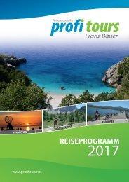 Reiseprogramm 2017