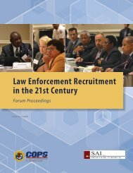 Law Enforcement Recruitment in the 21st Century