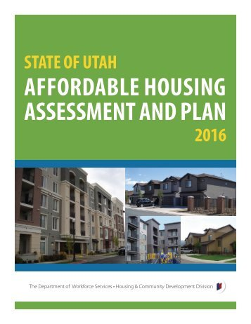 AFFORDABLE HOUSING ASSESSMENT AND PLAN