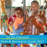 City of Brenham - Parks Guide 2017