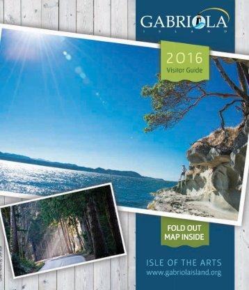 2016 Gabriola Visitor Guide
