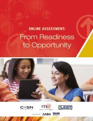 From Readiness to Opportunity