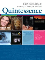 Quintessence - Quintessenz Verlag, Berlin