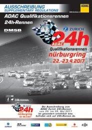 ADAC Qualifikationsrennen 24h-Rennen