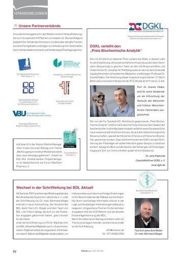Verbände & Tagungen - Trillium GmbH