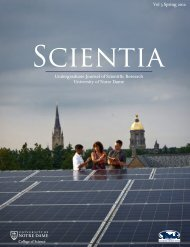 Physics - College of Science - University of Notre Dame