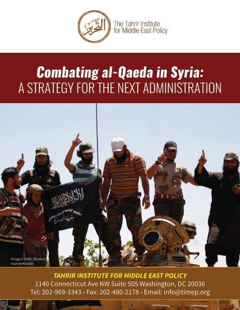 Combating al-Qaeda in Syria