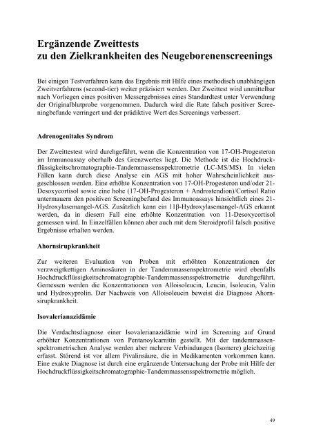 Verborgenen Krankheiten auf der Spur - Screening-Labor Hannover