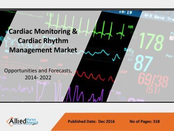Cardiac Monitoring & Cardiac Rhythm Management Market