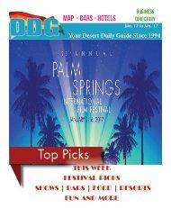 Jan 11 to Jan 17, 2017! DDG THIS WEEK in Gay Palm Springs.