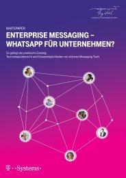 Enterprise Messaging - WhatsApp für Unternehmen?