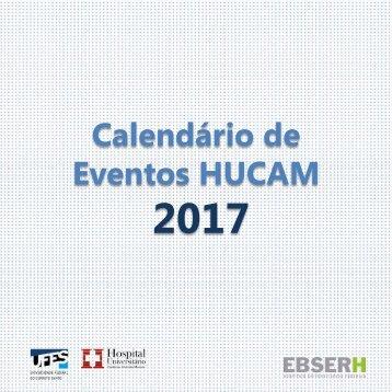 Calendário Hucam 2017