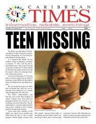 Caribbean Times 74th Issue - Thursday 12th December 2017