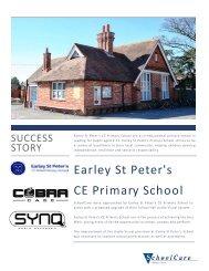 Success Story Brochure - Earley St Peters Primary School