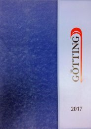 Götting Katalog 2017
