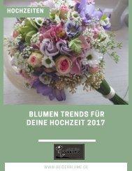 Die Blumen Hochzeitstrends 2017 (2)