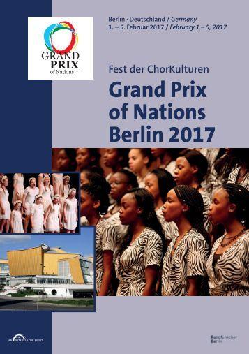 GRAND PRIX OF NATIONS Berlin 2017 - Program Book