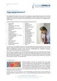 Hypoglykämie Candida Albicans_13.05.2008 - Frag einen Laborarzt