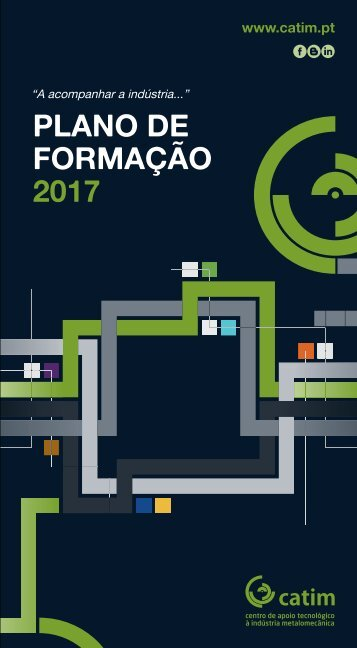 CATIM - PLANO FORMAÇÃO 2017