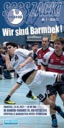 SSSSZACK! HGHB vs. HSG Ostsee