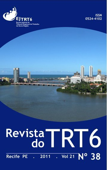 Revista do TRT 6 Nº 38