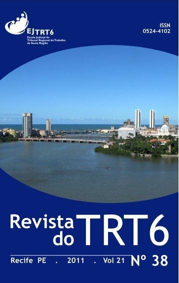 Revista do TRT 6 Nº 38