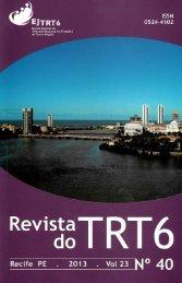 Revista do TRT 6 Nº 40