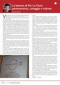 TRENT'ANNI DI ANTIMAFIA Nel nome di La Torre - Page 6