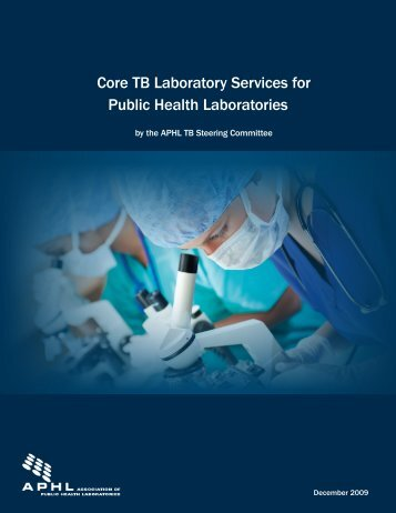 Core TB Laboratory Services for Public Health Laboratories