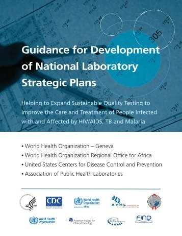 Guidance for Development of National Laboratory Strategic Plans