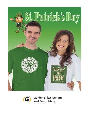St. Patrick's Day Catalog