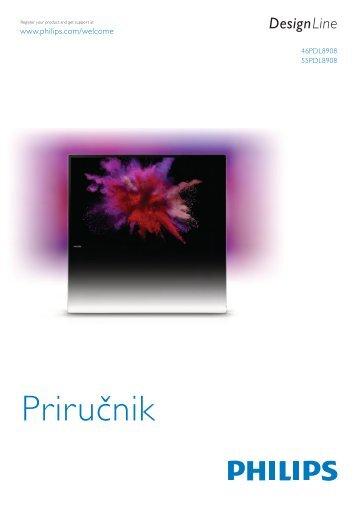 Philips DesignLine Smart TV Edge LED 3D - Mode d'emploi - SRP