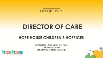 DIRECTOR OF CARE