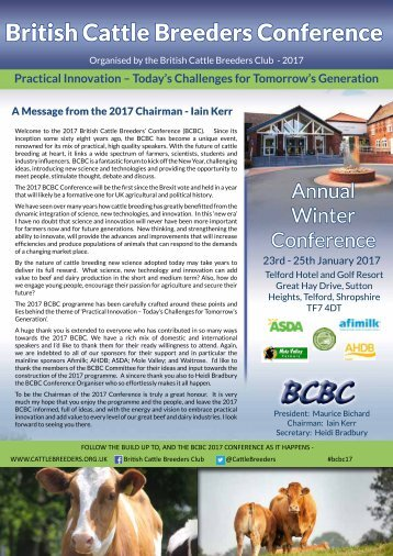 British Cattle Breeders Conference