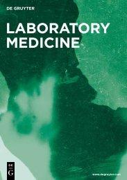 Laboratory Medicine - Walter de Gruyter