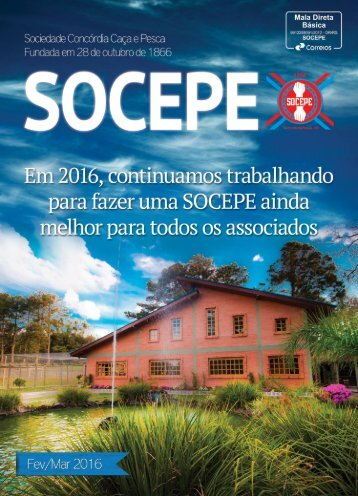 Revista SOCEPE - Fev/Mar 2016